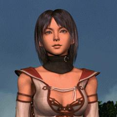 Maria na abertura de <i>Final Fantasy II</i> no <i><a href=
