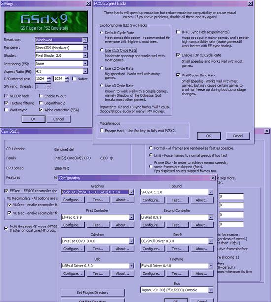 Pcsx2 video config inpursuit