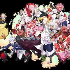 Arte para o 1° aniversario de <i>Final Fantasy XIV: A Realm Reborn</i>.