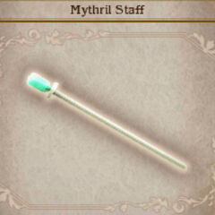 Mythril Staff in <i>Bravely Default</i>.