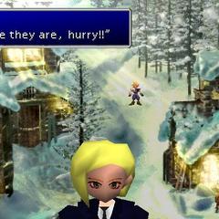 Elena em <i>Final Fantasy VII</i>.