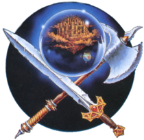 FF1 NES arte original
