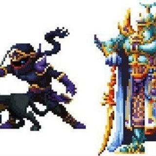 Shadow and Exdeath