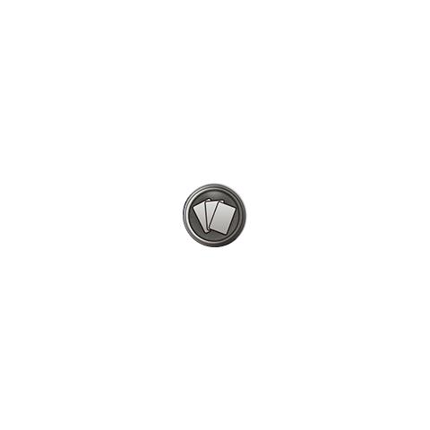 Gambling gear icon.