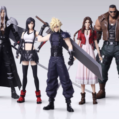 <i>Final Fantasy VII Remake</i> Trading Arts.