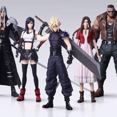 <i>Final Fantasy VII Remake</i> Trading Arts.