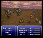 FFVI Reflected Spell Bug