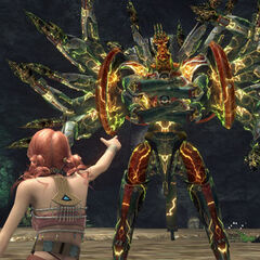Vanille commands her Eidolon.