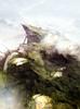 Highlands cutscene concept 2 for Final Fantasy III 3D