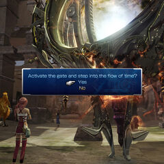Utilizing the Historia Crux in <i>Final Fantasy XIII-2</i>.