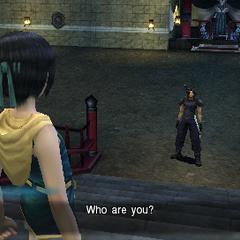 Zack conhece Yuffie.