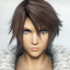 Squall from the arcade tutorial.