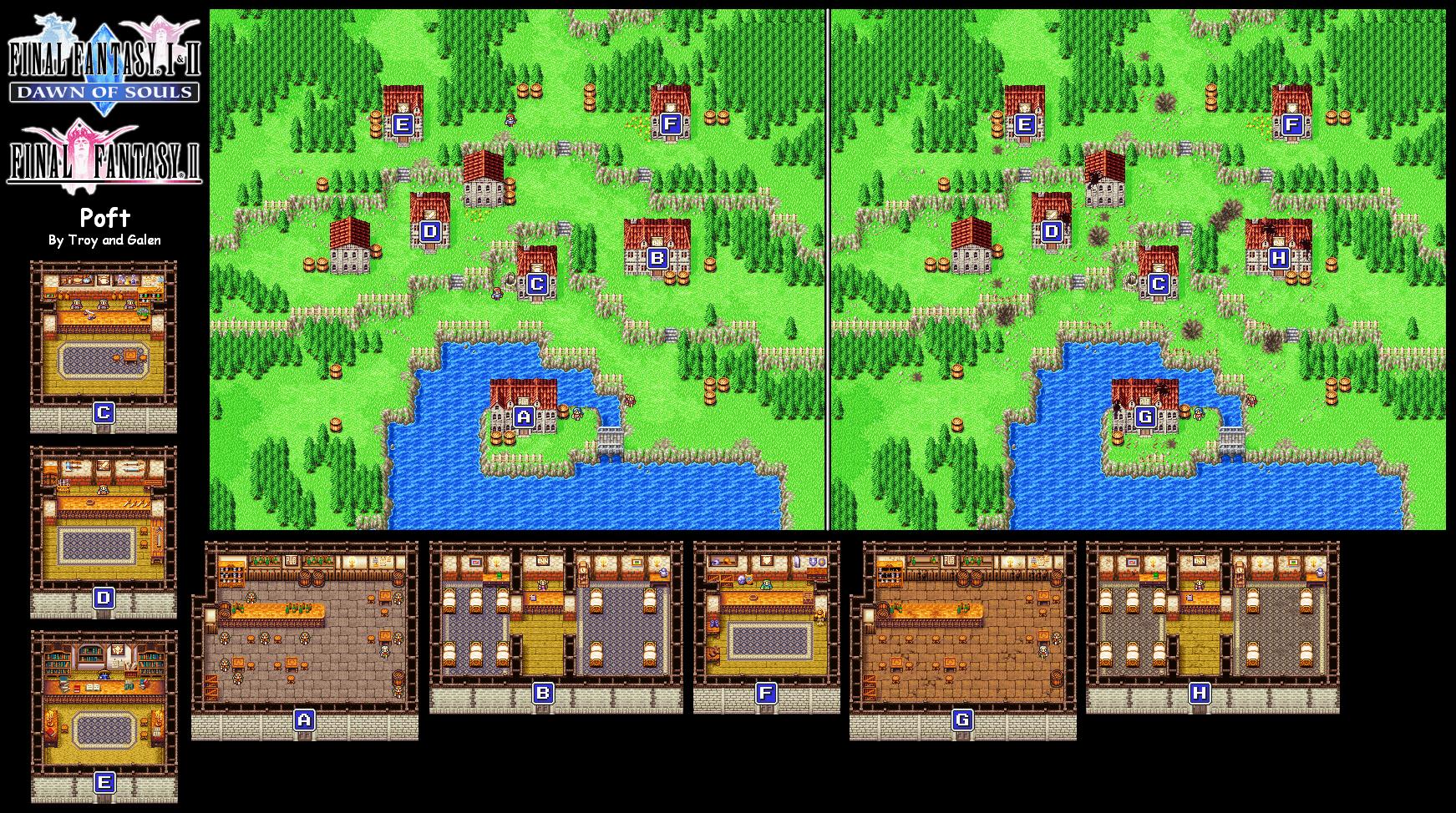 Image - FFII Poft Map.png   Final Fantasy Wiki   FANDOM powered by Wikia