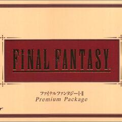 <i>Final Fantasy Premium Package</i><br />Sony PlayStation<br />Japão, 2002.