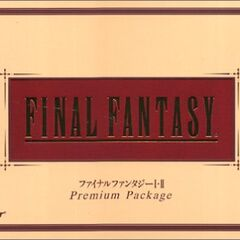 <i>Final Fantasy Premium Package</i><br />Sony PlayStation<br />Japão, 2002.
