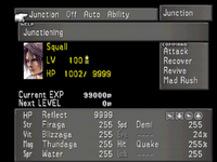 FFVIII Junction Menu 1