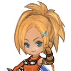 Wind-up Rikku.