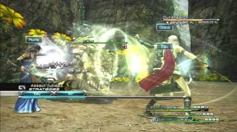 Final Fantasy XIII Combat contre Gurangatch