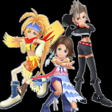 Aparência em <i>Kingdom Hearts II</i>.