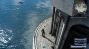 Lighthouse photo op from FFXV
