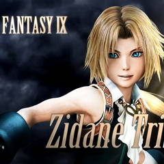 Zidane Tribal in the <i>Dissidia Final Fantasy</i> 11.26 trailer.