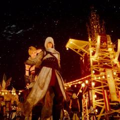 Lestallum during Assassin's Festival.