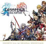 Dissidia pre-order soundtrack