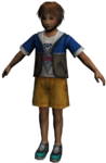 FFX Kid Tidus Render