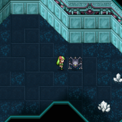 Omega's location in the PSP version.