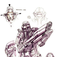 European Biohazard Troop concept.