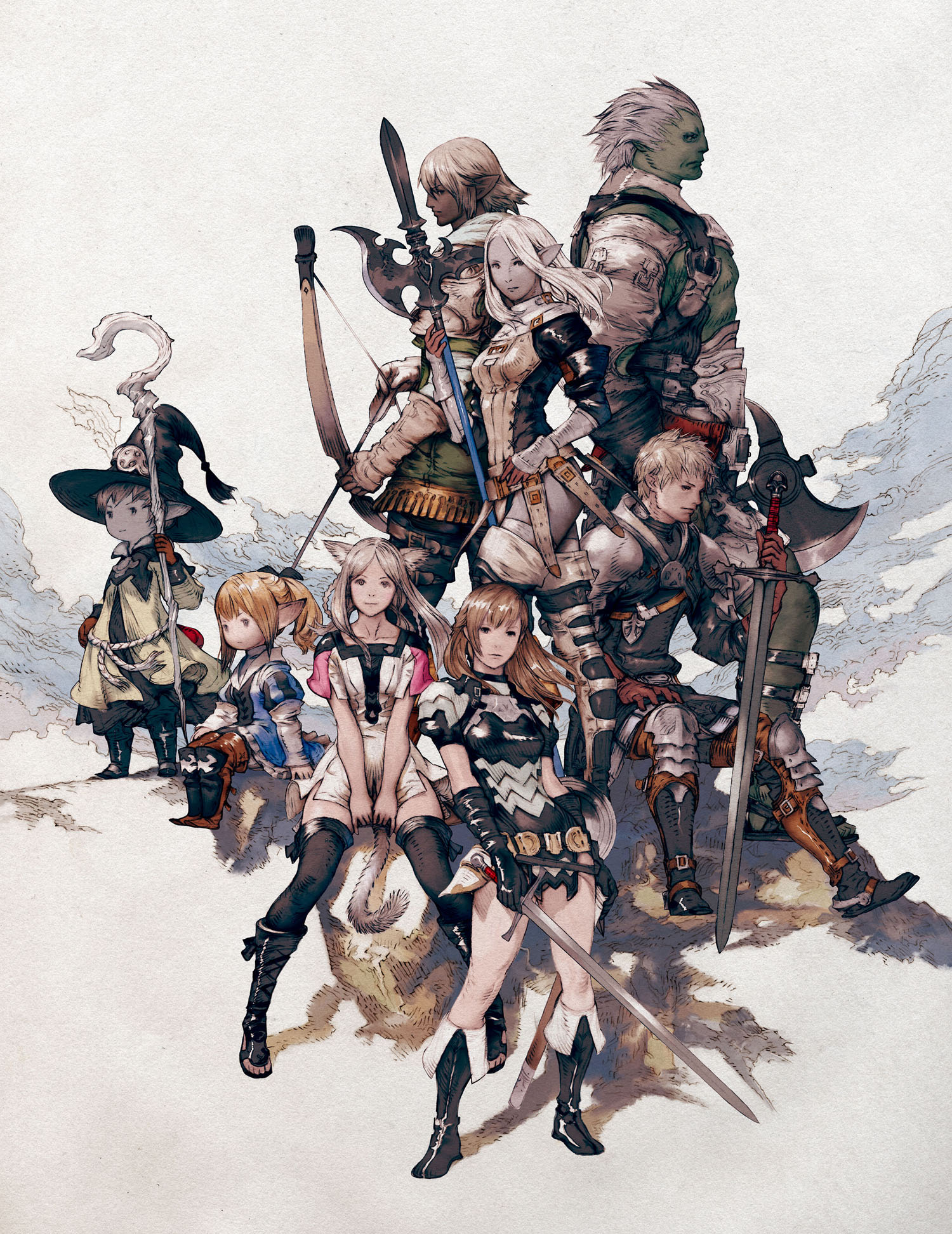 final fantasy wiki featured images ffxiv races final fantasy wiki