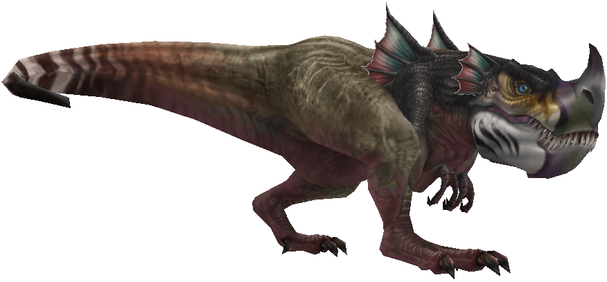 how to avoid dinosaure ff xii