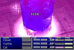 FFVII Dragon Dive