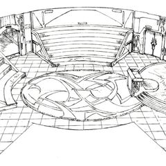 Auditorium concept art.