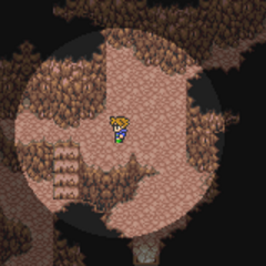 Inside Gil Cave (GBA).