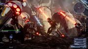 Imperial Spearmen in battle in FFXV