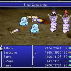 Final Calcabrina.
