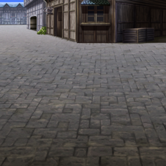 Battle background (town) (iOS/Android/PC).