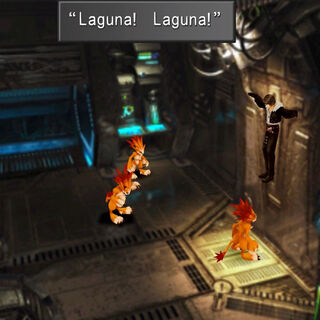 Moomba calls Squall