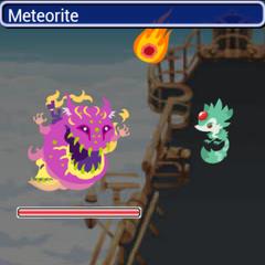 Meteorite in <i><a href=