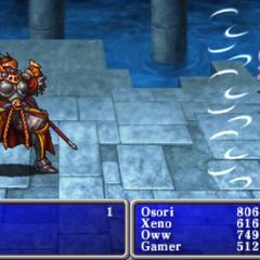 Gilgamesh em <i>Final Fantasy I &amp; II: Dawn of Souls</i>.