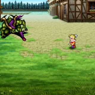 Kefka vs Unnamed Esper