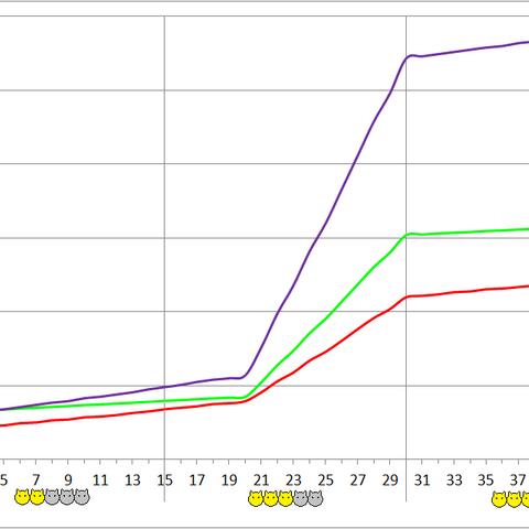 Notsugo development chart.