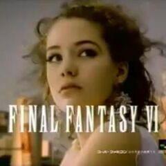 Японская телереклама для <i>Final Fantasy VI</i>.