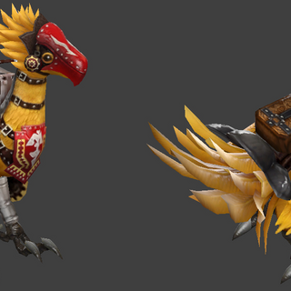 <i>Dota 2</i> chocobo courier.