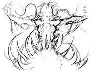 Cloud of Darkness Amano Sketch 2