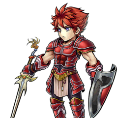 Artwork for Warrior of Light's costume.