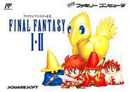 FF1&2 Famicom boxart