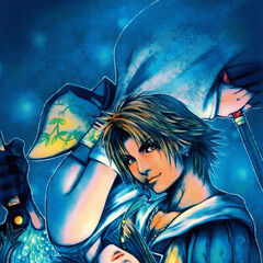 Tidus and Yuna.
