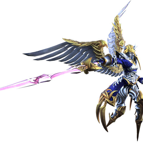 Agrias in her angelic form
